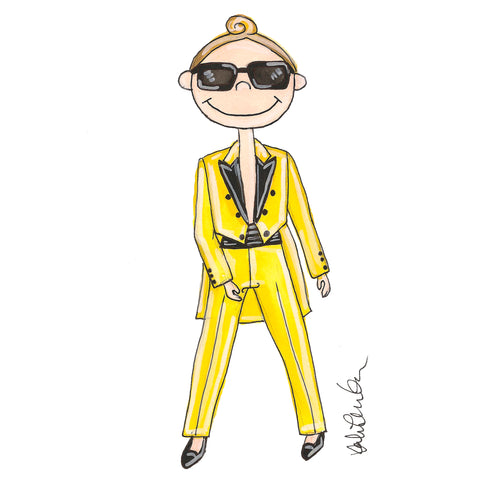 Little Jeremy Scott Illustration