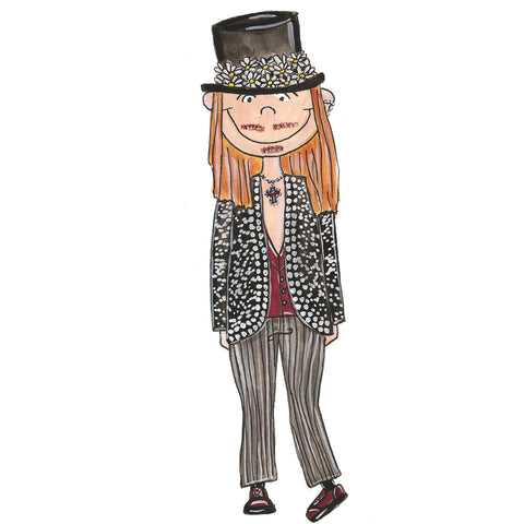 Little John Galliano Illustration