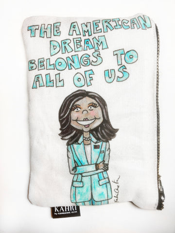 Kamala Quote Coin Purse