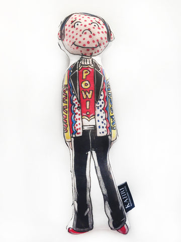 Little Roy Lichtenstein Doll