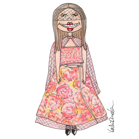 Little Lindsey Wixon Illustration