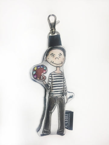 Mini Picasso Doll Bag Charm