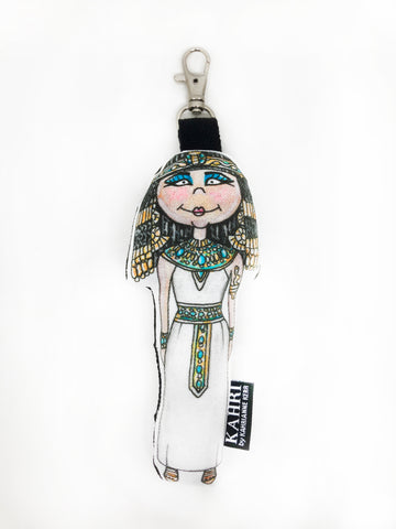 Mini Cleopatra Doll Bag Charm