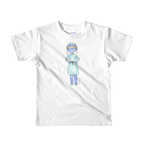 Little COVID-19 Healthcare Worker Short sleeve kids t-shirt