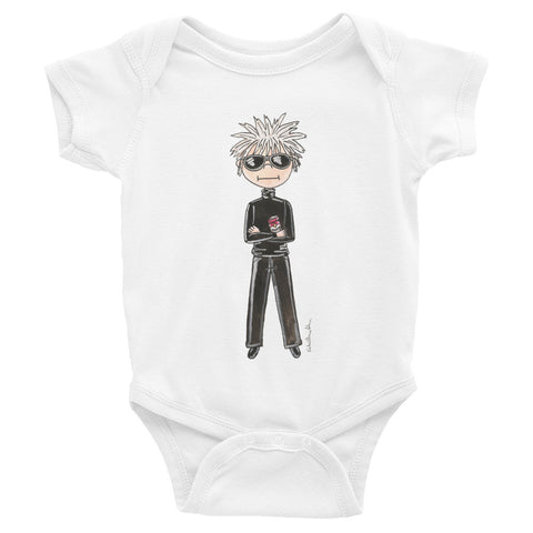 Little Andy Warhol Infant Bodysuit