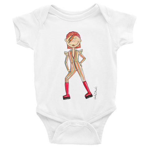 Little Bowie Infant Bodysuit