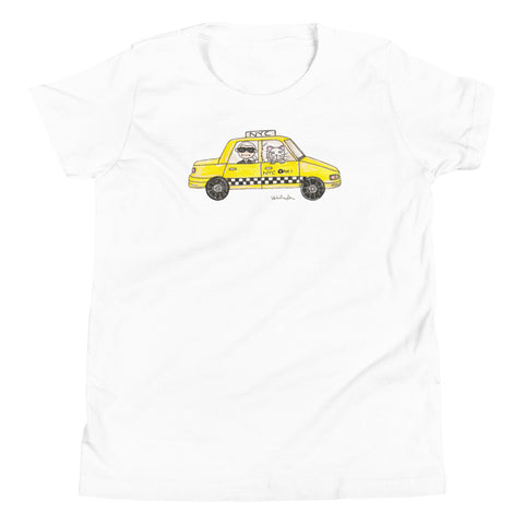 Karl in a Cab Youth Short Sleeve T-Shirt