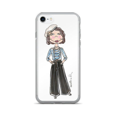 Little Coco Chanel iPhone 7/7 Plus Case