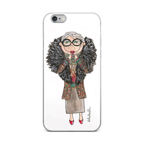 Little Iris iPhone Case