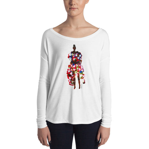 Riri Ladies' Long Sleeve Tee