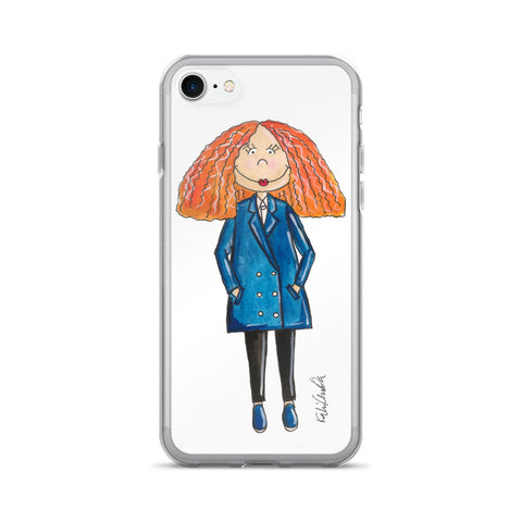 Little Grace Coddington iPhone 7/7 Plus Case