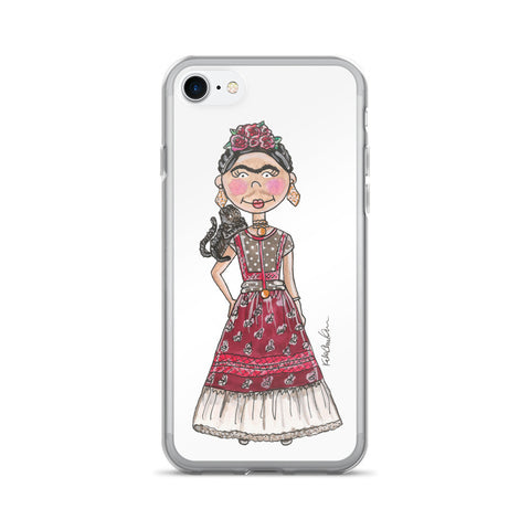 Little Frida Kahlo iPhone 7/7 Plus Case