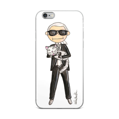 Little Karl iPhone Case