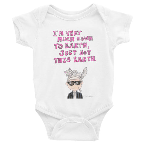 Karl Quote Infant Bodysuit