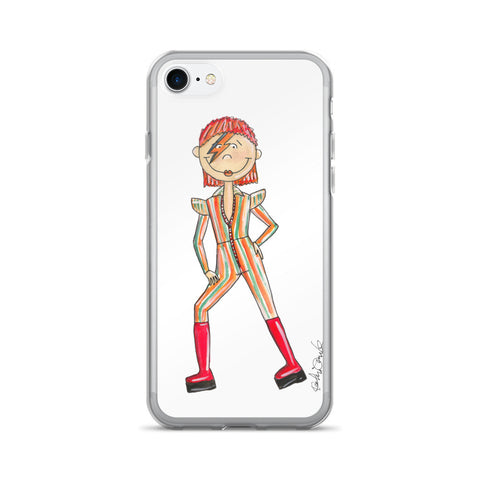 Little Bowie iPhone 7/7 Plus Case