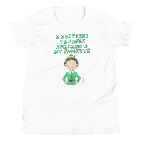 Elf Quote Youth Short Sleeve T-Shirt