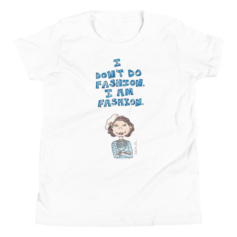 Little Coco Quote Youth Short Sleeve T-Shirt