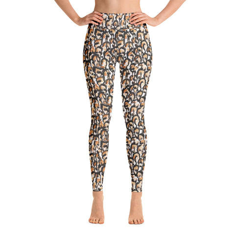 Leopard Yoga Leggings