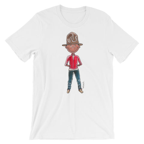 Little Pharrell Short-Sleeve Men's T-Shirt