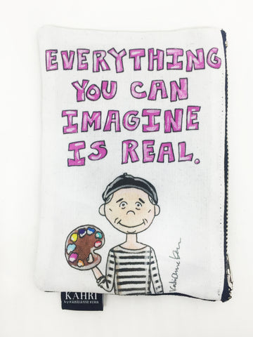 Picasso Quote Coin Purse