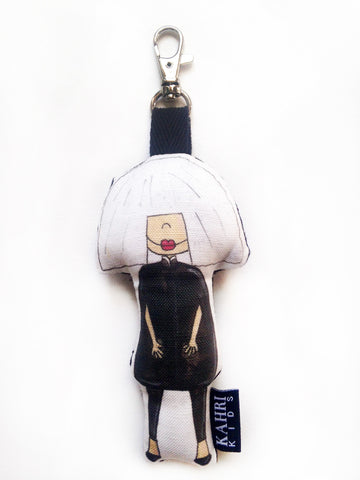 Mini Sia Doll Bag Charm