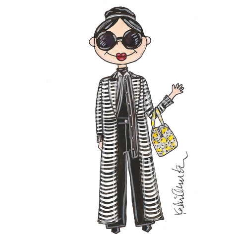 Little Stacey Bendet Illustration