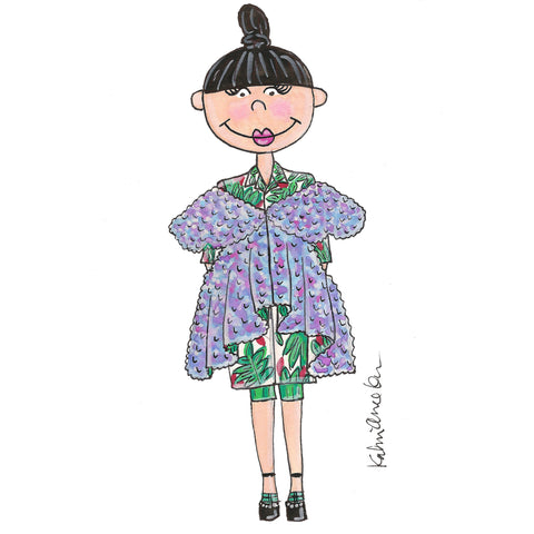 Little Susie Bubble Illustration