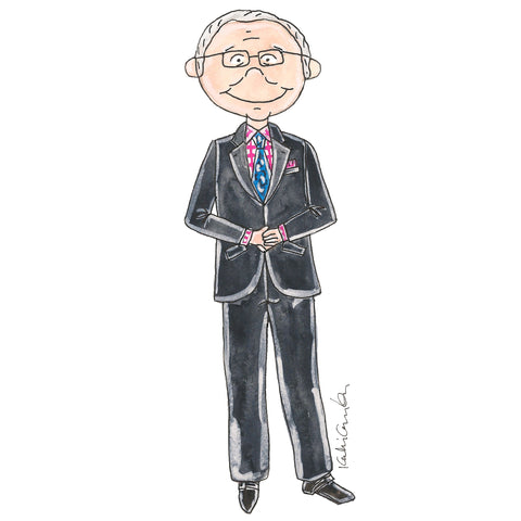 Little Tim Gunn Illustration