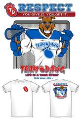 Team Dawg Dry-Fit Lacrosse Tee