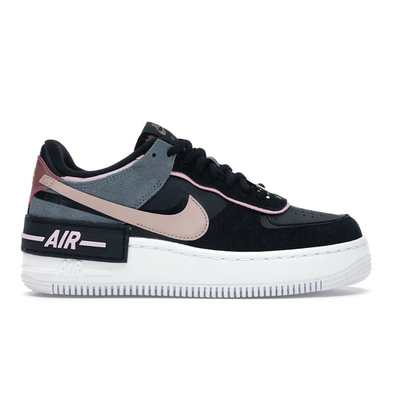 Air Force 1 Shadow Black Light Arctic Pink Claystone Red - Rare Fashion