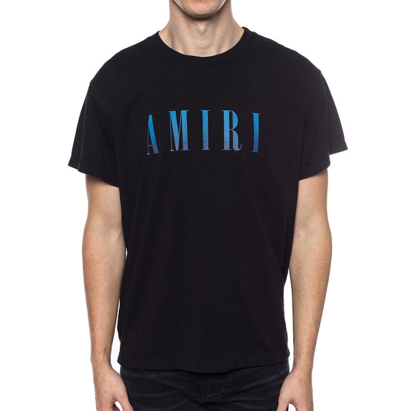Amiri Blue Logo T-Shirt - Rare Fashion