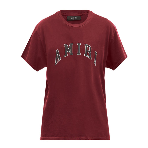 Amiri Logo T-Shirt Bordeaux - Rare Fashion