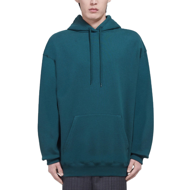 Balenciaga Green Backprint Hoodie - Rare Fashion