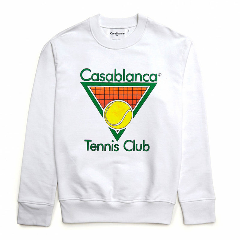 Casablanca Tennis Logo Sweater - Rare Fashion