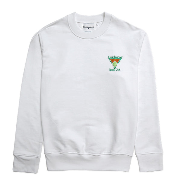 Casablanca Small Tennis Logo Sweater