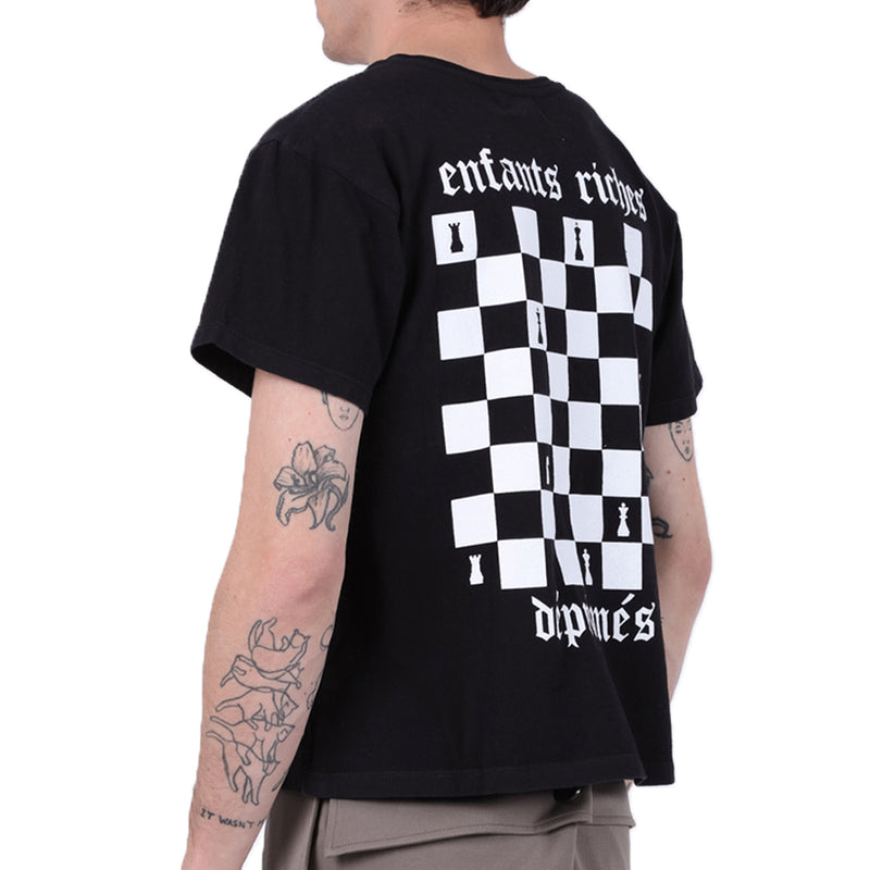 Enfants Riches Déprimés Checkerboard T-Shirt - Rare Fashion