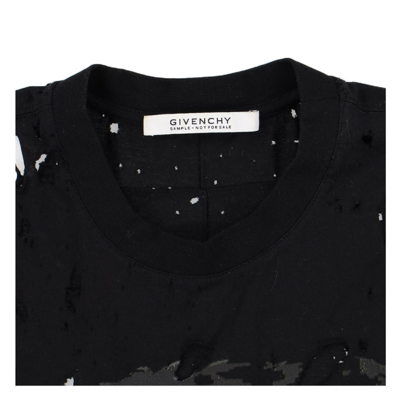 Givenchy 1of1 Distressed Rottweiler T-Shirt