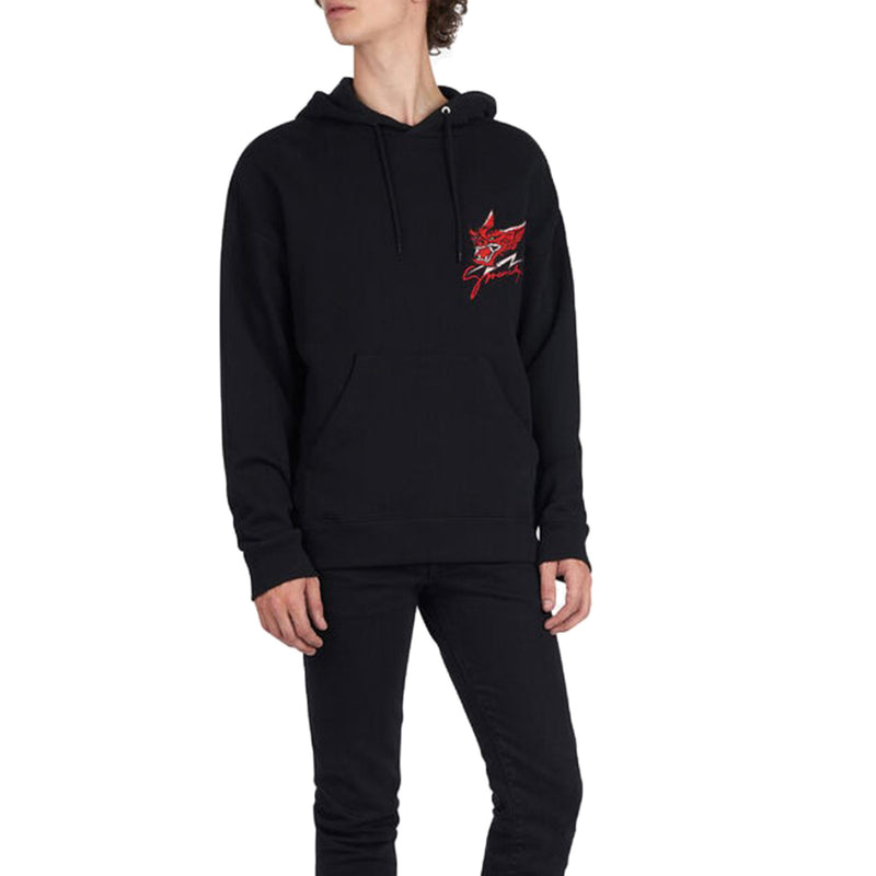 Givenchy embroidered Bat Hoodie