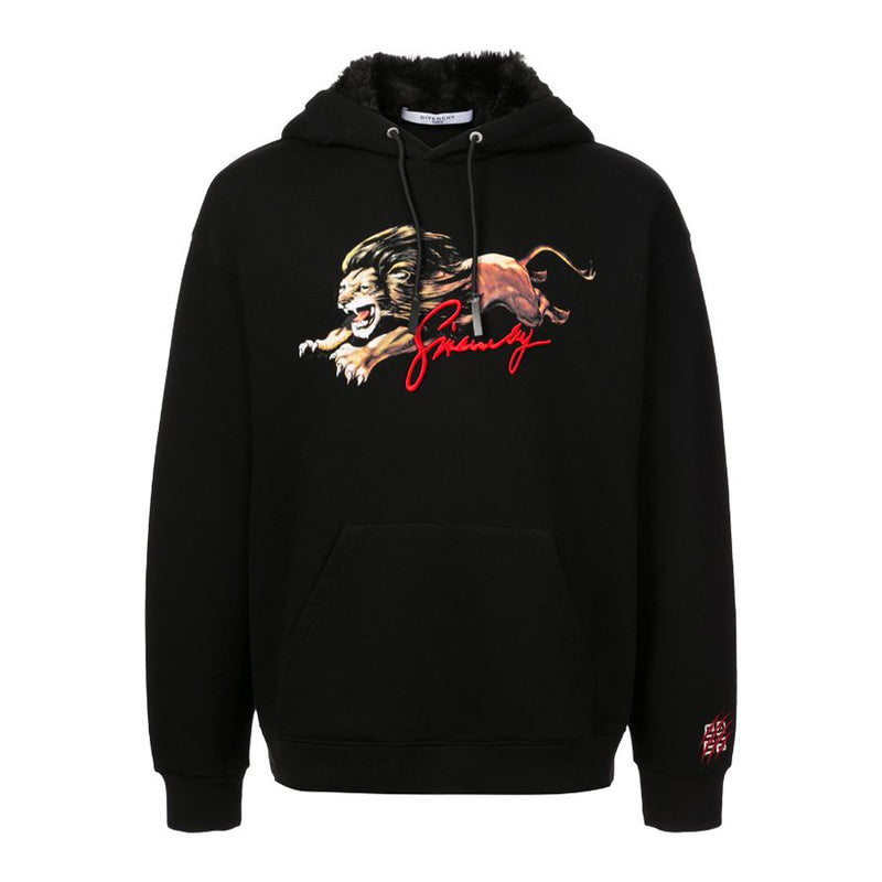 Givenchy Lion Hoodie - Rare Fashion