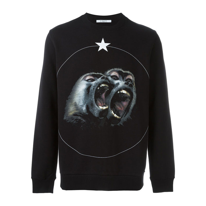 Givenchy Monkey Brothers Sweater - Rare Fashion