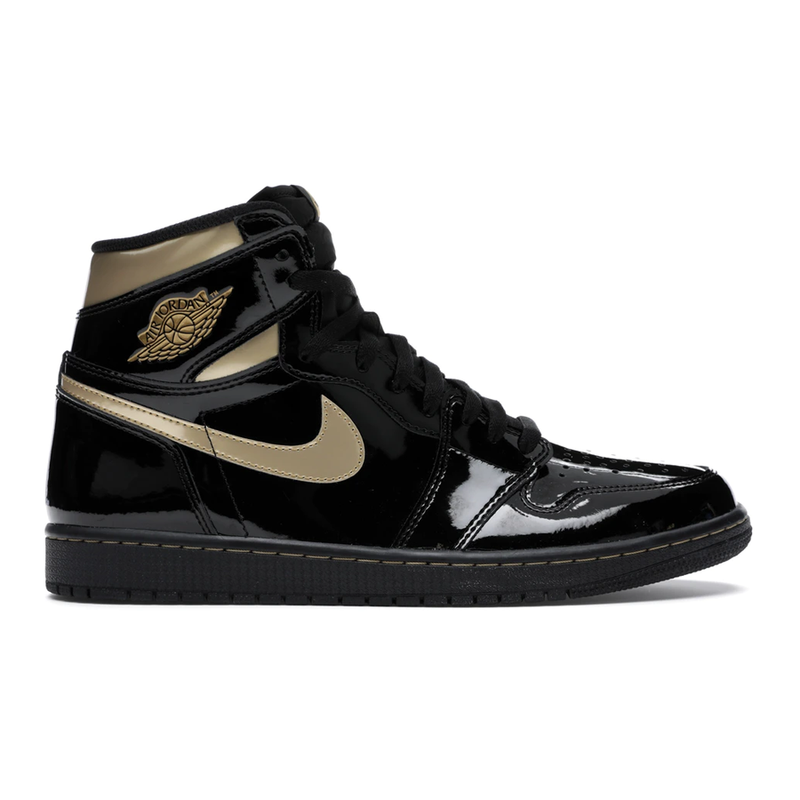 Jordan 1 Black Metallic Gold - Rare Fashion