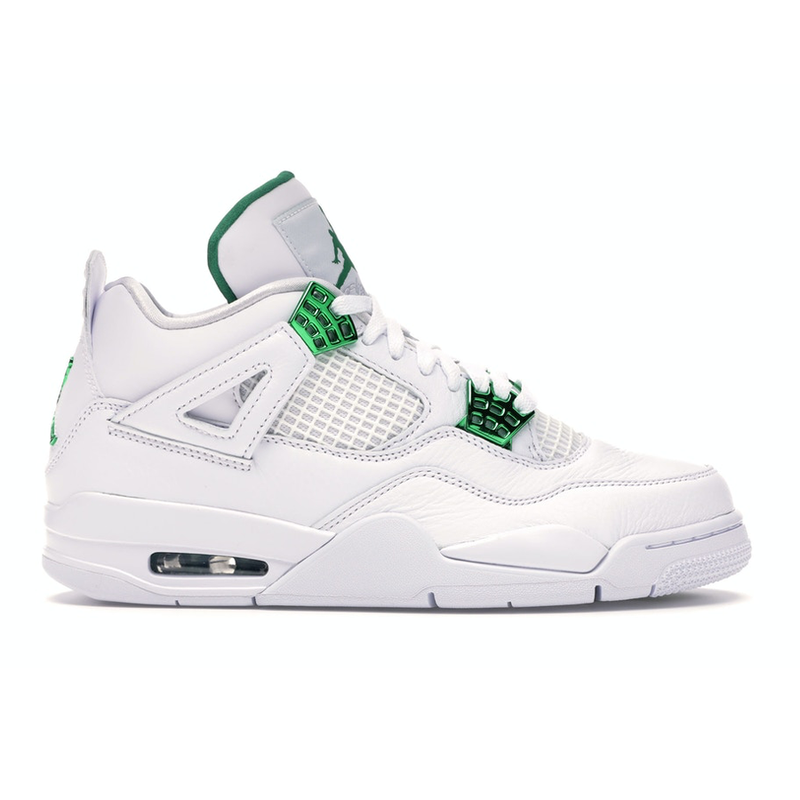 Air Jordan 4 Retro Green Metallic - Rare Fashion