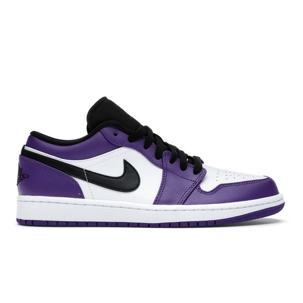 Air Jordan 1 low Court Purple - Rare Fashion