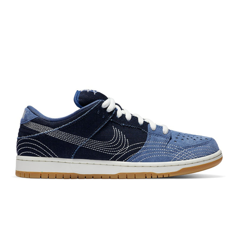 Nike Dunk Low Denim Sashiko blue - Rare Fashion