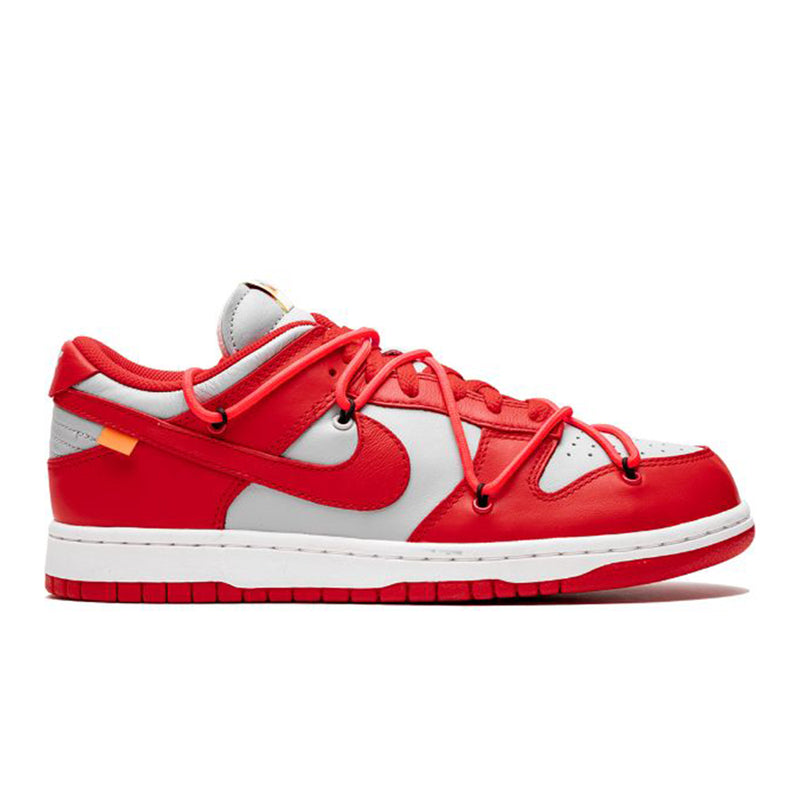 Nike Dunk Low Off-White University Red - Rare Fashion