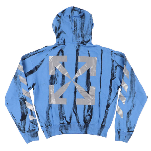 Off White Tye Dye Arrows Hoodie