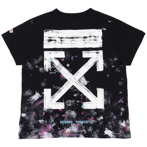 Off White Galaxy T-Shirt - Rare Fashion