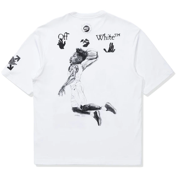 Off-White x Jordan T-Shirt - Rare Fashion