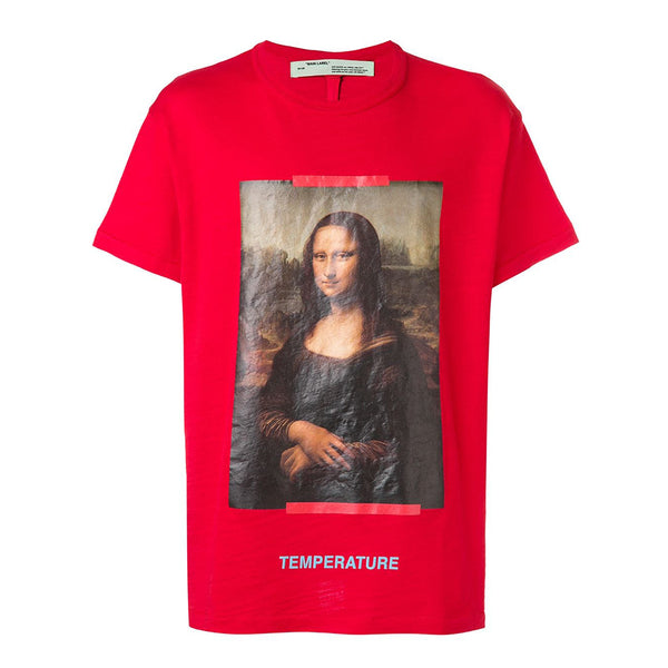 Off White Mona Lisa T-Shirt - Rare Fashion