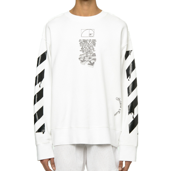 Off White Dripping Arrows Sweatshirt
